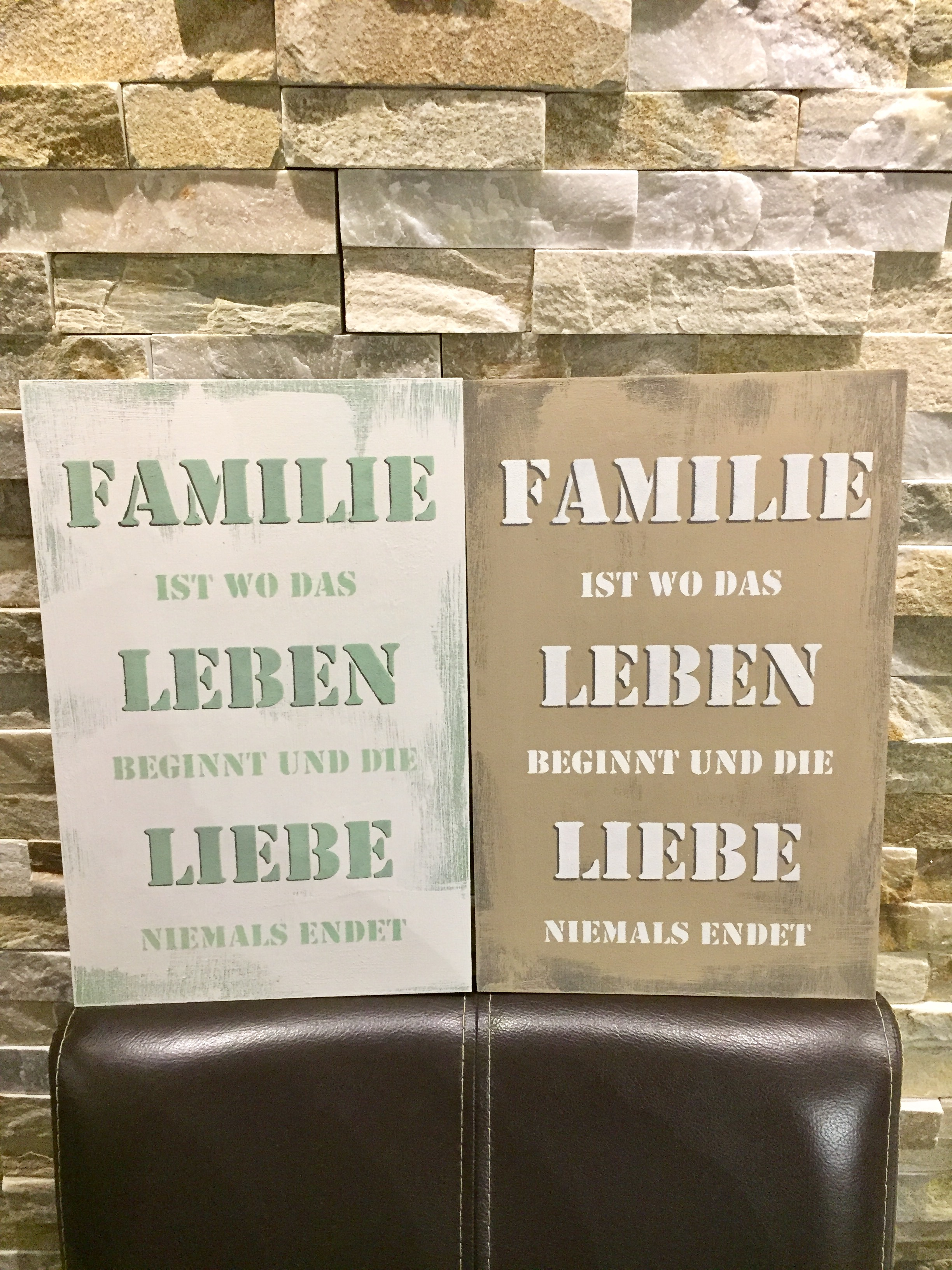 schild familie leben liebe shabby tr ggli. Black Bedroom Furniture Sets. Home Design Ideas